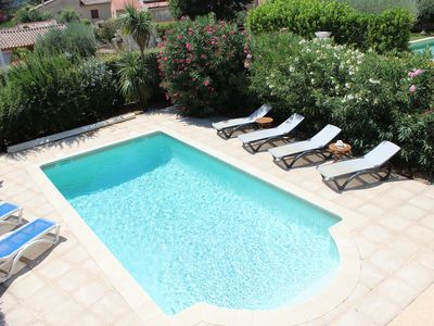 Photo for Delightful Lorgues villa 5 minutes on foot from village centre