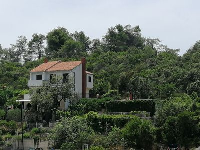 Photo for House overlooking the sea in Croatian island ideal for families and large groups