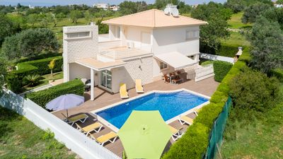 Photo for UP TO 50% OFF! Modern villa w/pool, sea view, games room, AC, free WiFi