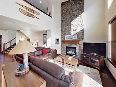 Photo for Retreat at Jordanelle w/ Private Hot Tub - Luxe 5BR Near Slopes & Main Street