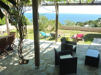 Irena and Stefan. Perfect retreat with a beautiful sea view.