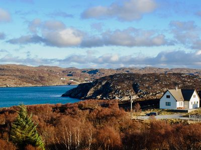 Photo for Stunning panoramic sea views in the idyllic North West Highlands of Scotland.