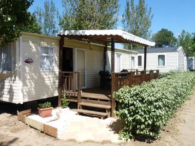 Photo for 4BR Mobile Home Vacation Rental in Vias, Occitanie