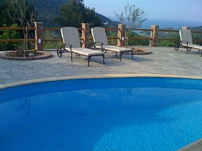 Photo for Traditional Kalivi In Old Stone With Very Private Pool, Terraces And Gardens.