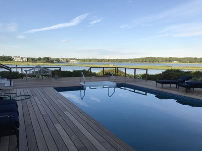 Photo for Bay Front, Beautiful Views, Private Beach, Deep Water Dock