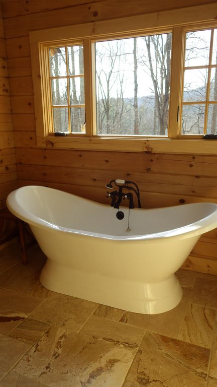 Luxury Log Cabin With Spa Bathroom Hot Tu