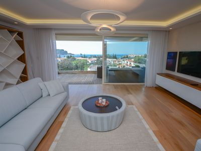 Photo for Super Luxury 3BR Sea View Apartment- 5 min from the beach!