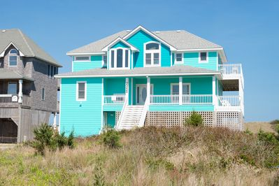 Admirable Blue Moon No 1 Rated Luxury Oceanfront Theater Elevator Pool Spa Tiki Bar Rodanthe Download Free Architecture Designs Osuribritishbridgeorg