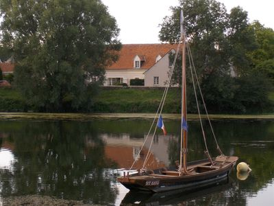 Photo for CHARMING HOLIDAY RENTAL AT THE EDGE OF THE RIVER LE CHER