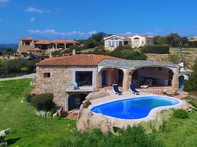 Photo for VILLA STONE by KlabHouse- 3BR w/pool and seaview - 500 meter from the beach
