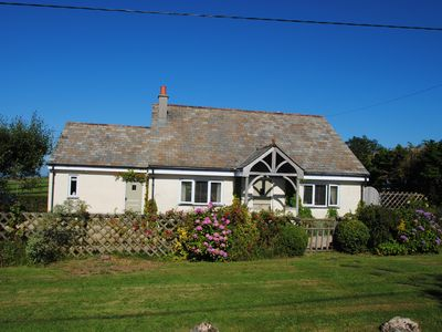 Photo for Delightful cosy cottage with open country and sea views near Crackington Haven