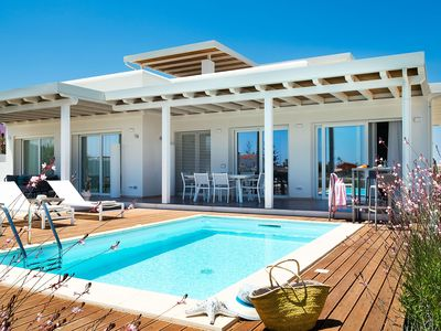 Photo for Seaside vacation villa rental Sicily with pool and AC