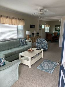 Photo for 2 Queen Bedrooms/1.5 Baths /2 Blocks to Beautiful Beach or Sunset Lake