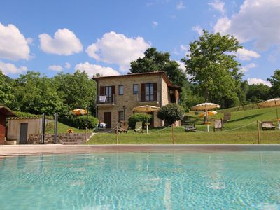 Photo for Property with swimming pool, spacious garden, private terrace and views