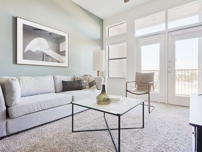 Photo for Sonder | Haven at Main | Chic 1BR + Pool