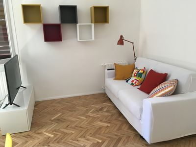 Photo for Bright and welcoming two-room apartment, brand new and comfortable