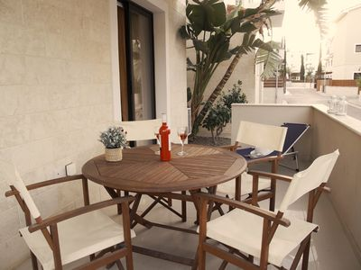 Photo for Kyklades Resort DPSBF01 -One Bed Apartment -Patio-Pool-Tennis-Gym-Spa