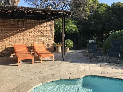 Photo for House with private pool and large garden within walking distance to Bloubergstrand