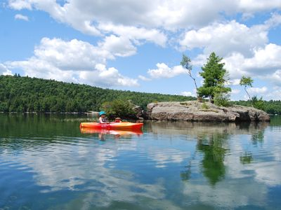 Photo for Prime location on Lake St George! Full Amenities, adventure, May - Jun openings