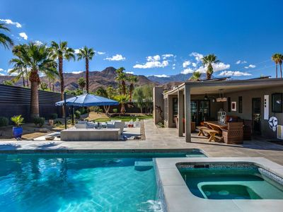 Photo for Luxe at the Cove: 4 BR / 5 BA home in Cathedral City, Sleeps 8