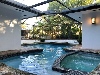 Photo for Centrally located resort style Miami pool home