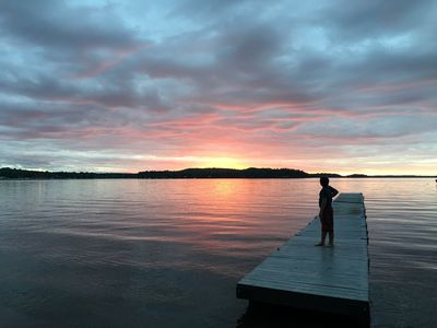 Photo for Champs Camp on Lake Champlain with private beach