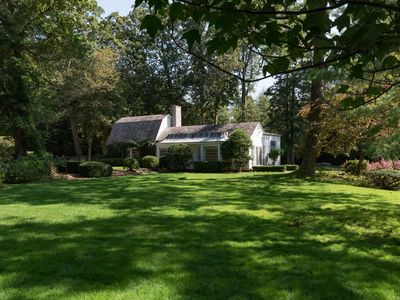 Photo for Charming private guest house cottage on 3 acre estate