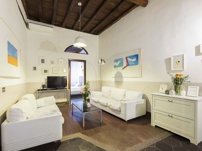 Photo for Large Rome apartment rental in Navona - Campo de Fiori