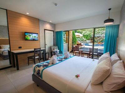Photo for Comforatable Deluxe Double room near beach +ABF(D7)