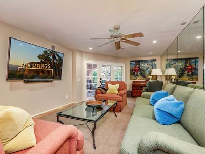 Photo for Resort-like Grounds and a Downtown Palm Springs Location.  The Deauville condominiums offer 3 pools and spas, tennis courts, newly renovated work out facility, club house, and underground parking. It doesn`t get any better than this location. You can forge