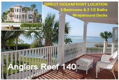 Directly ON the ocean with the best views at Anglers Reef - inside and out!