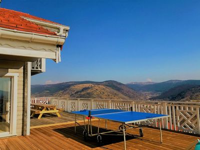Photo for THE FLOCON OF THE HIGH VOSGES - 7 rooms - jacuzzi sauna-table football - ping pong