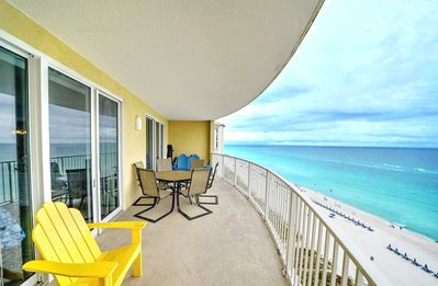 Photo for Gulf Views☀BeachFront Pool + Hot Tub☀Inspected & Disinfected☀2BR Twin Palms 1201