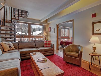 Photo for 1 Block to Main Street, Complex Elevator & Outdoor Pool, Loft
