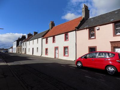 Pretty terraced cottages in Colinsburgh