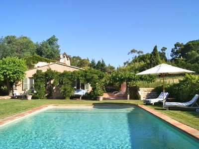 Photo for Charming Provencal St Tropez Villa near the beach and town centre