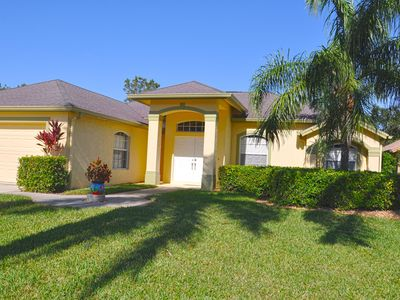 Photo for Beautiful/private 3Br home on a quiet Cul-de-Sac w/saltwater Pool & Spa.