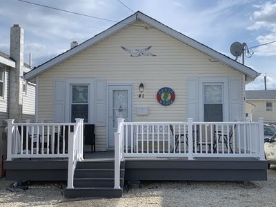 """Single Family Home/Porch- BEACH BLOCK. RE-DONE. """"NOT YOUR TYPICAL SEASIDE HOME"""""""