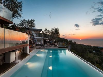 Photo for Villa Davide , infinity pool,sea view,Jacuzzi,garden and terraces