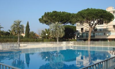 Photo for East-West duplex in St Tropez, sea view, pool, parking lot, air conditioning, Wifi