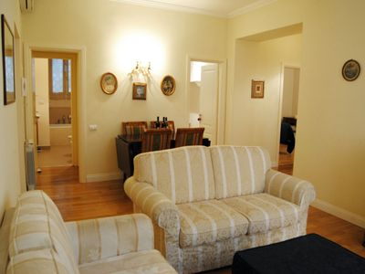 Photo for Fori Place apartment in Centro Storico with WiFi & air conditioning.