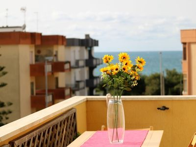 Photo for Levante holiday home with sea view near the Lidi