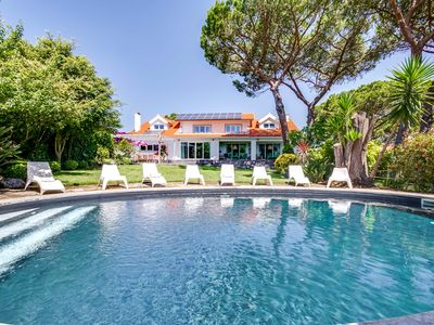 Photo for 7 bedroom Villa, sleeps 18 with Pool, Air Con and FREE WiFi