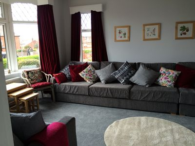 Sitting Room with lots of comfy seating, TV and Sky