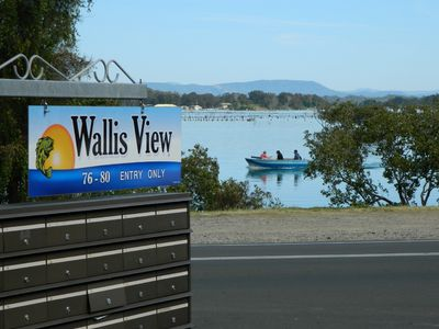 Photo for 26 Wallis View - Opposite the Lake - 3 Bedroom Apartment with Air Con