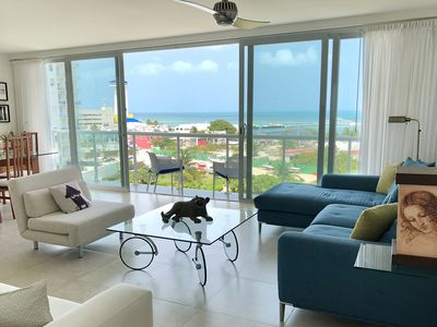 Beachfront 3-bedroom condo