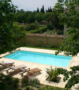Photo for Lovely house with large garden & private pool in heart of Minervois