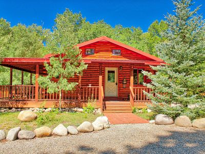 Photo for NEW! Mountain River Cabin on the South Arkansas River