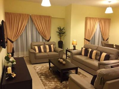 Photo for Tastefully furnished 3 bedroom flat available for short or long lease