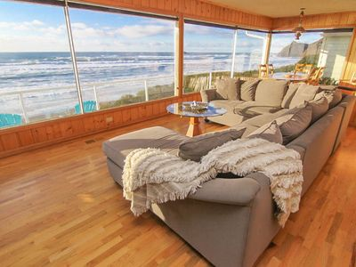 Photo for Vintage Charm with a Modern Flair in this Oceanfront Beauty in Roads End!